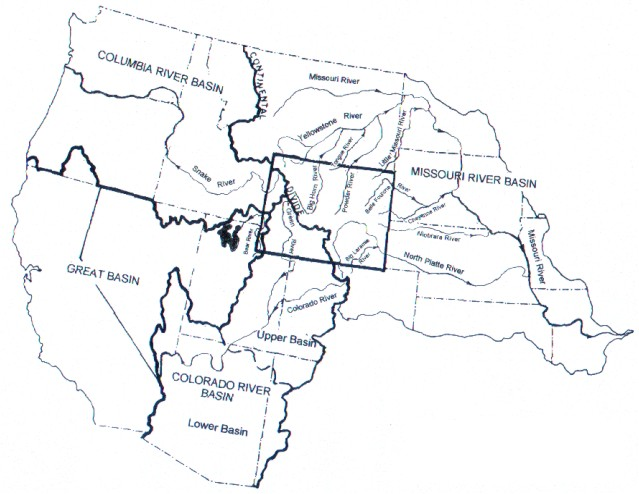 United States Map Rivers
